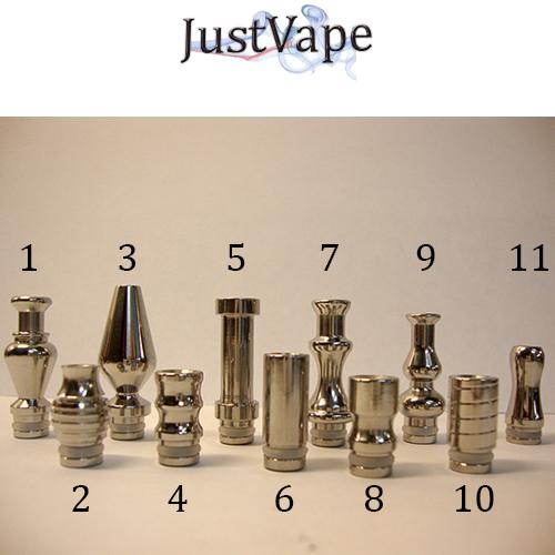 justvape steel drip tips