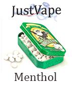 Menthol juice by justvape