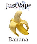 Classic Banana flavour e juice by Justvape