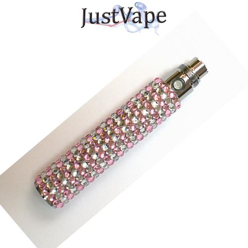 Pink Crystal ego 900mah battery